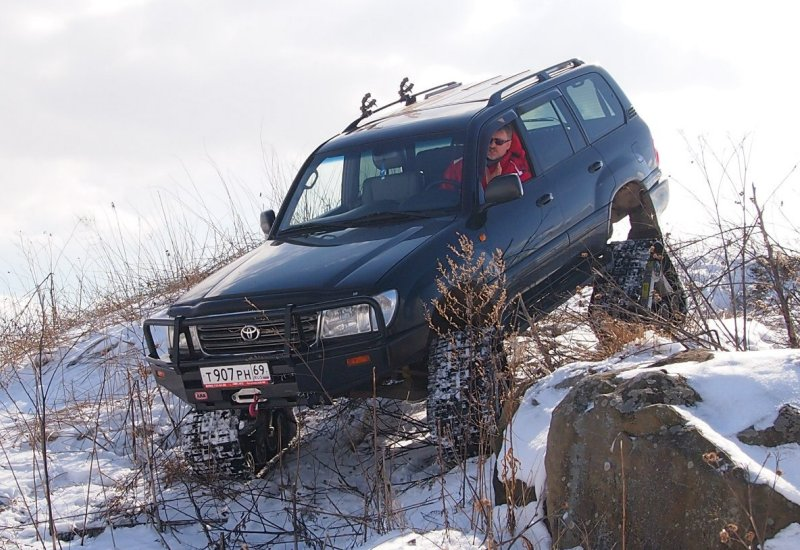 Гусеницы на Toyota Land Cruiser